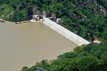 The Tokwe Mukosi Dam created Zimbabwe's largest freshwater lake