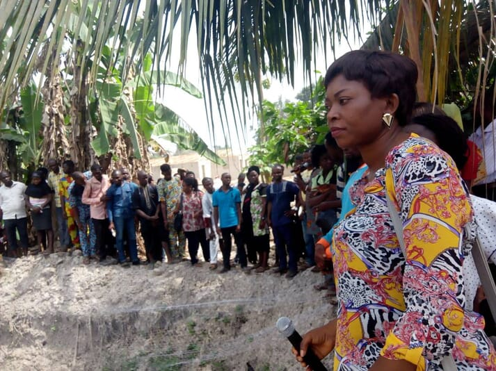 Benedicta Peter-Ugheoke has trained fish farmers across the Niger Delta