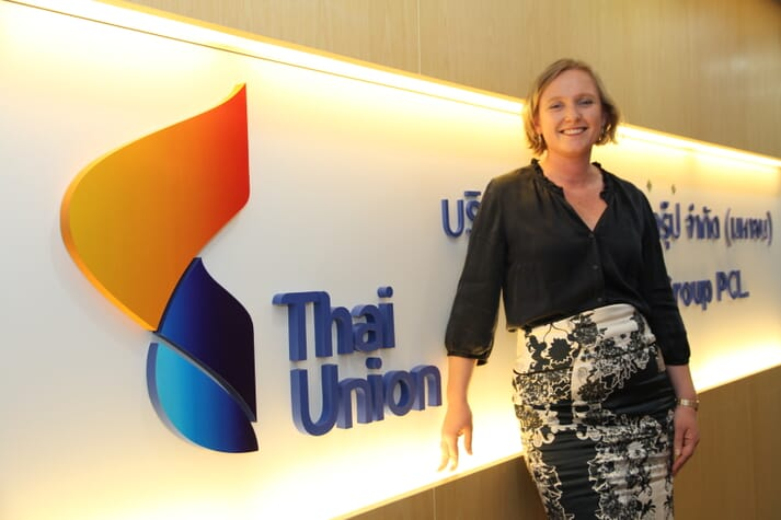Dr Darian McBain, Thai Union's global director of corporate affairs and sustainability