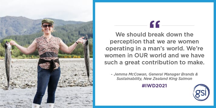 Jemma McCowan, general manager of brands and sustainability with New Zealand King Salmon