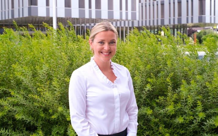Christina Ianssen, sustainability director at Aker Biomarine