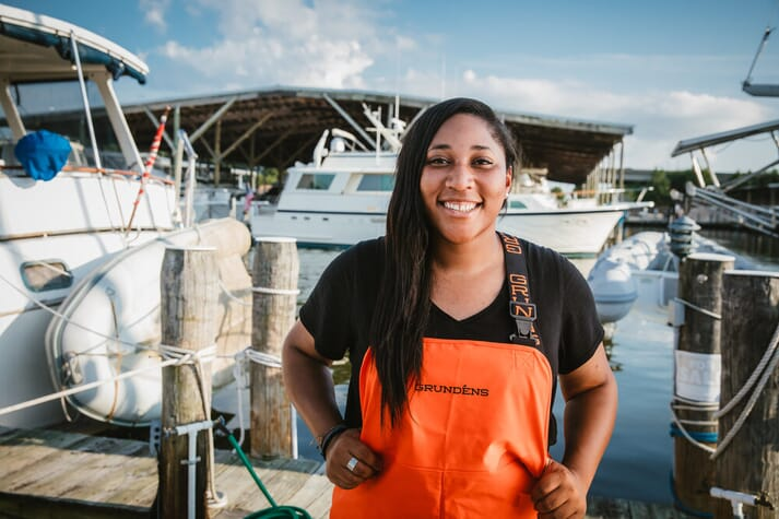Imani Black is currently working as a faculty research assistant at the University of Maryland's Center of Environmental Science (UMCES) Horn Point Laboratory