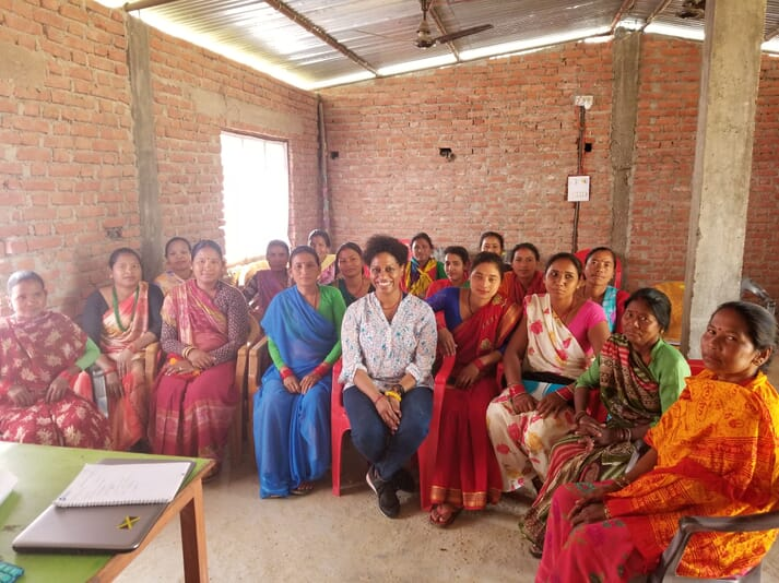 Dr Juli-Anne Royes Russo was given a chance to get to know the female carp fish farmers of the Rupandehi district in Nepal. Women play an important part behind the scenes on the farm