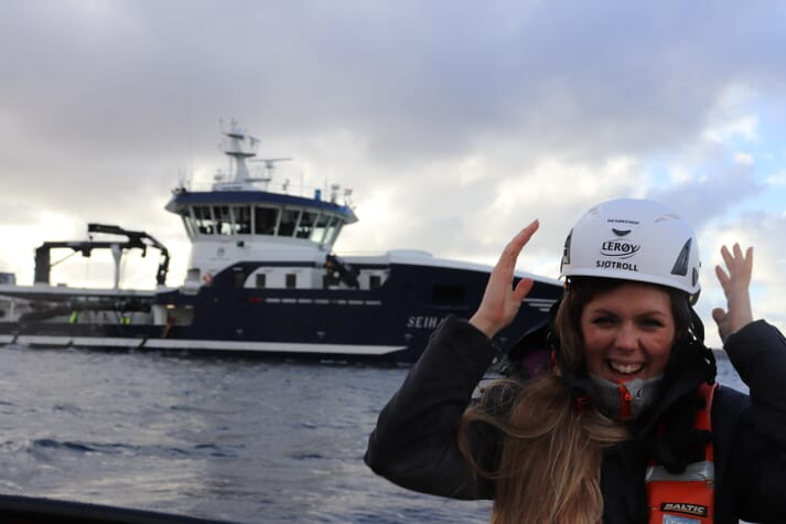 Linn Therese represents the interests of 120 companies, including all Norway's wellboat operators