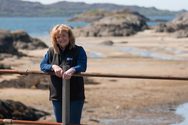 Marie-Clare Russell, MD of FAI Aquaculture, has worked in the field of fish health since the mid-1980s