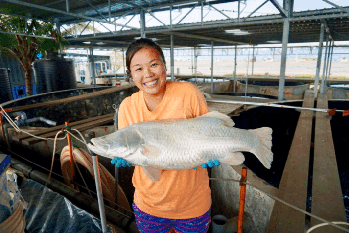 Marie Tan is moving from a hands-on farming role to teaching