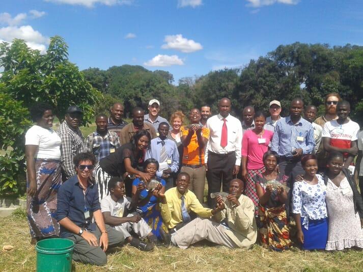 Training a new generation of tilapia farmers in Zambia