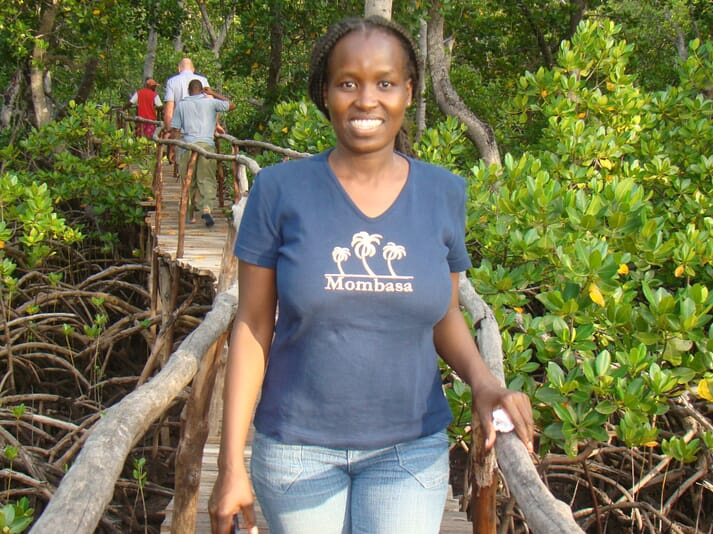 Morine Mukami, is a Kenya-based Artemia production expert