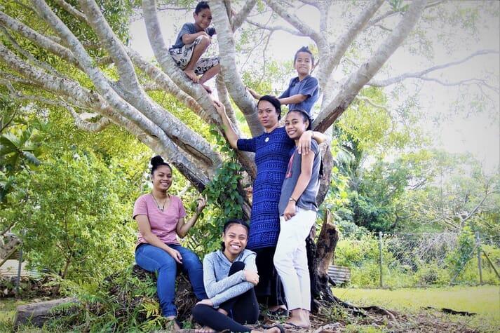 Pearl farming allows Naua Lakai to support her five children