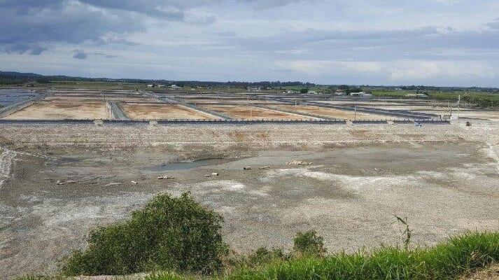 A typical Queensland prawn farm