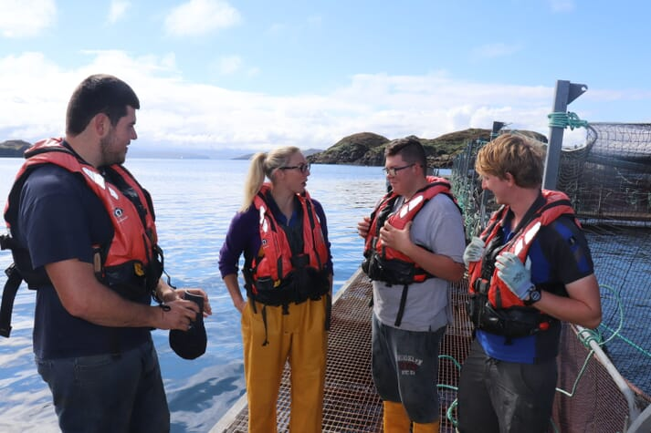 Over 12,000 jobs are in Scotland are  dependent on the aquaculture industry