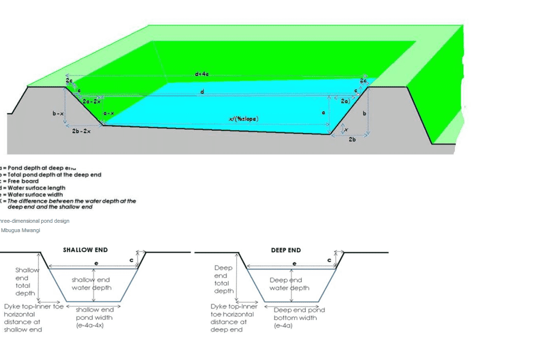 How To Construct A Semi Intensive Pond For Aquaculture The Fish Site