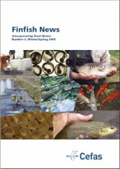 Finfish News(incorporating Trout News) Number 5, Winter/Spring 2008