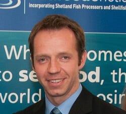 Michael Tait of Shetland Mussels Ltd