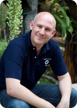 Andy Shinn, director of Fish Vet Group Asia, is a world renowned expert on aquatic parasites