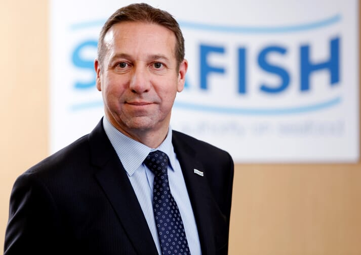 Marcus Coleman, CEO of Seafish